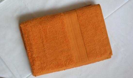 Canaria Orange Bath Sheet Google Ad