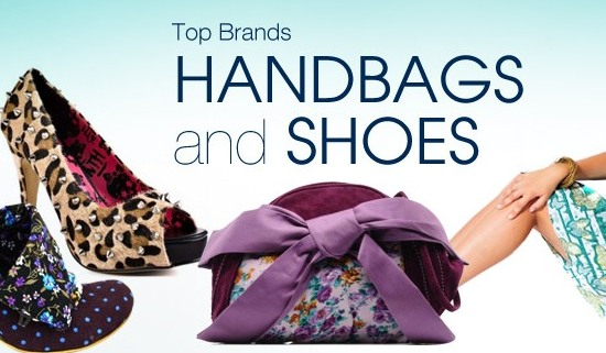 Top Brand Handbags and Shoes Ad