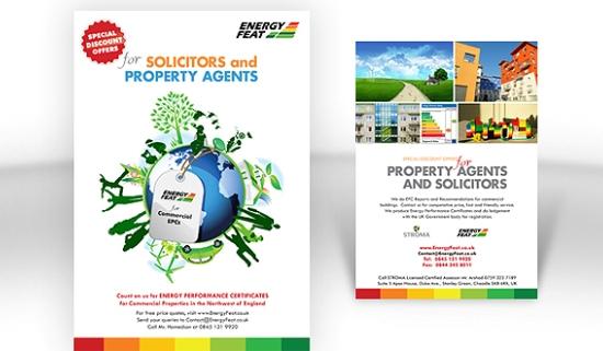 Energy Feat Marketing Flyers