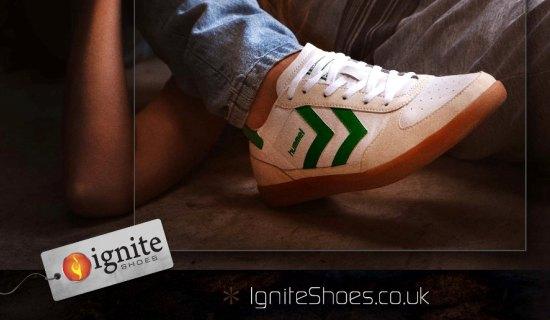 Ignite Shoes Magazine Ad A4 Size