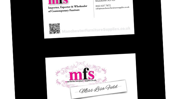 MFS Business Cards Design & Print
