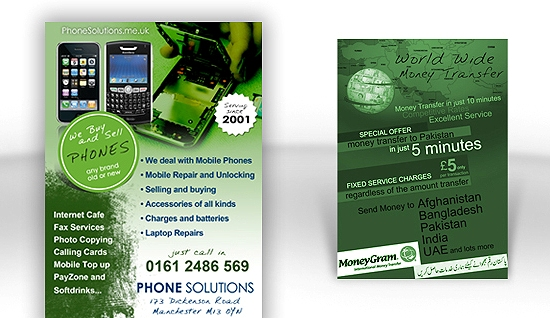 Phone Solutions Flyer Printing