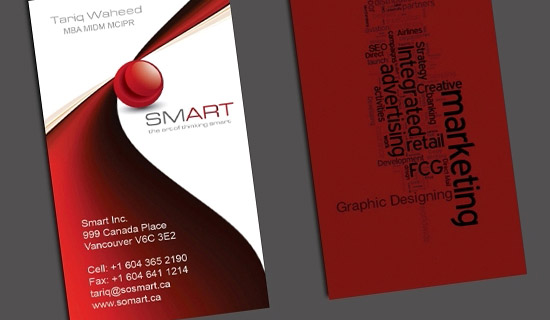 Smart Marketing Business Cards