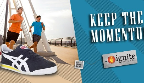 Ignite Running Shoes Web Banner