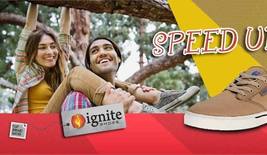 Ignite Shoes Web Banner 25