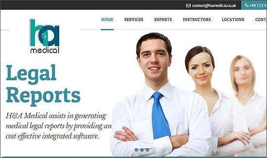 H&A Medical Website
